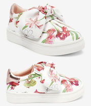 TED BAKER(テッドベーカー) キッズスニーカー Baker by Ted Baker★フローラル リボン スニーカー(12-18.5㎝)
