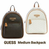 [Guess] MUZE BACKPACK モノグラムロゴ バックパック リュック