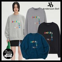 ANDERSSON BELL(アンダースンベル) スウェット・トレーナー ANDERSSON BELL ANDERSSON BELL EMBROIDERY SWEATSHIRT AB1083