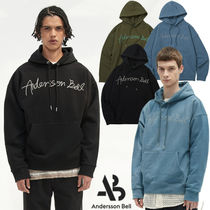 ANDERSSON BELL(アンダースンベル) パーカー・フーディ ★ANDERSSON BELL★韓国★UNISEX TOPOS LOGO EMBROIDERY HOODIE