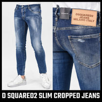 【D SQUARED2】SLIM CROPPED JEANS