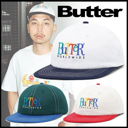 Butter Goods/バターグッズ Jumble ロゴ ツートーン キャップ