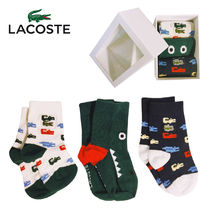 LACOSTE(ラコステ) ベビーその他 LACOSTE ベビーソックス 3色組セット 靴下 綿 出産祝い RA6890