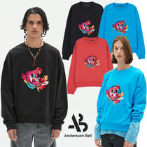 ANDERSSON BELL(アンダースンベル) スウェット・トレーナー ★ANDERSSON BELL★正規品★FLEUR SMILE EMBROIDERY SWEATSHIRTS