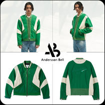 ANDERSSON BELL(アンダースンベル) フリースジャケット [ANDERSSON BELL]★Unisex leather motorcycle padded jacket