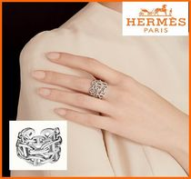 HERMES Chaine d'Ancre Enchainee ring/指輪, large model/LM