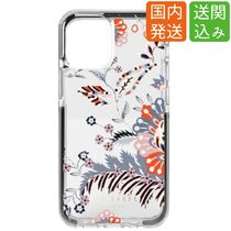 TED BAKER(テッドベーカー) iPhone・スマホケース TED BAKER★SPICED UP花柄クリアーiPhoneケース 13/12/11 他各種