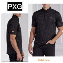PXG(ピーエックスジー) ポロシャツ ★PXG★COMFORT FIT HEROES POLO カモフラージュ ポロシャツ
