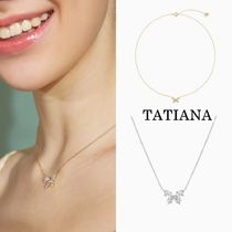 TATIANA【送料込】ネックレス*Clear Butterfly Pendant Necklace