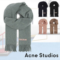 ■ACNE■ Canada New logo-embroidered wool scarf 4色 新作