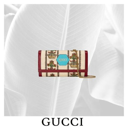 【GUCCI】GUCCI 100 WALLET WITH CHAIN