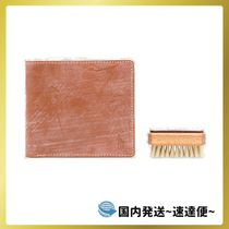 ☆SALE☆distressed-finish leather wallet