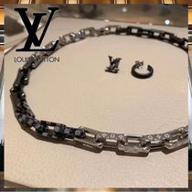 Louis Vuitton コリエ・ダミエ モノグラム チェーン ネックレス