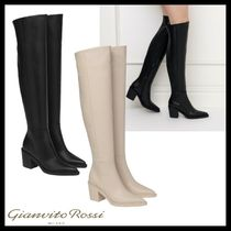Gianvito Rossi DYLAN CUISSARD ニーハイブーツ