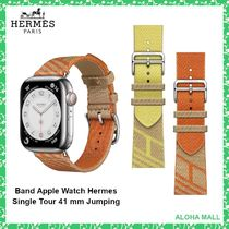 【HERMES】Band Apple Watch Hermes Single Tour 41 mm Jumping