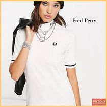 FRED PERRY(フレッドペリー) Tシャツ・カットソー 【Fred Perry】branded ロゴ ハイネックTシャツ (送料込)