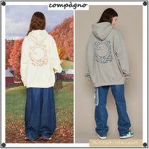 CPGN STUDIOのRun Smile embroidered hoodie 全2色