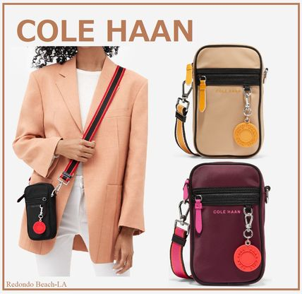 【2WAY・関税込み】★COLE HAAN★Nylon Cell Phone Crossbody