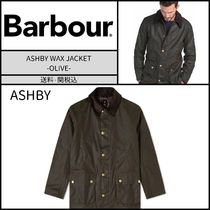 Barbour(バブアー) ジャケットその他 【国内発送】★BARBOUR★ASHBY(アシュビー) WAX JACKET -OLIVE-