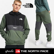 SALE【NORTH FACE】ロゴ セットアップ カーキ / 送料無料
