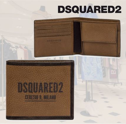 **D SQUARED2**ディースクエアード★Man Wallet with Logo財布