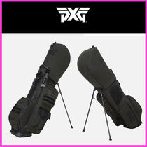 PXG(ピーエックスジー) キャディーバッグ・ケース ☆21FW☆WAX COATED STAND BAG L&L Khaki Series/PXG☆