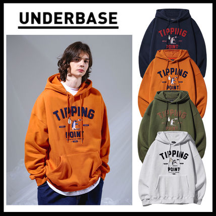 【UNDERBASE】21FW★ TIPPING POINT HOOD 4色 ★正規品★