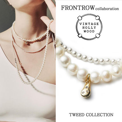 VINTAGE HOLLYWOOD x FRONTROW★5-way Pearl Necklace/追跡付