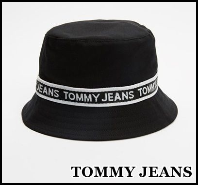 【TOMMY JEANS】ロゴテープ バケットハット★送料込★