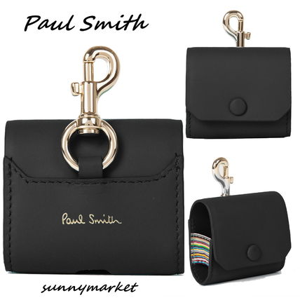 PAUL SMITH☆AirPods Pro ケース レザー ブラック送関込