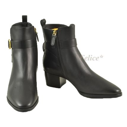 *TOD'S トッズ* Leather Ankle Boots 関税/送料込