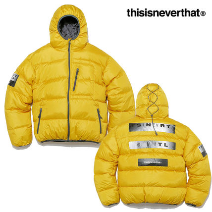 ◇ thisisneverthat◆HOODE.D PUFFY DOWN JACKET