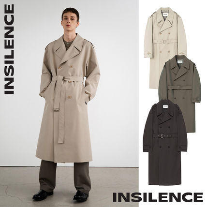 [IN SILENCE] Oversize Trench Coat★トレンチコート