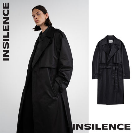 [IN SILENCE] Chintz Cotton Trench Coat★トレンチコート