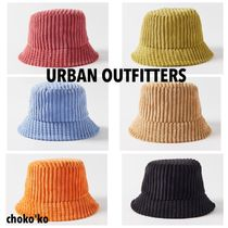 Urban Outfitters(アーバンアウトフィッターズ) ハット 関送込【Urban Outfitters】Wide Wale Corduroy バケットハット