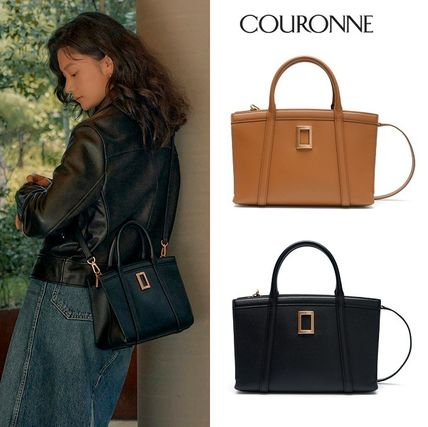 [COURONNE] Moss Tote 28 ★ トートバッグ(2色)