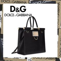 【D&G直営店】21AW☆ロゴ付きトートバッグ