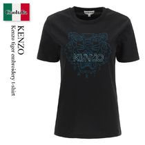Kenzo tiger embroidery t-shirt
