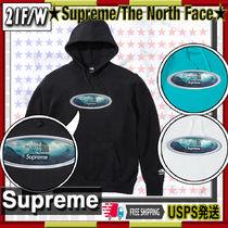 【21FW】SUPREME x The North Face Lenticular Hoodie