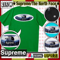 【21FW】SUPREME x The North Face Lenticular Tee