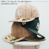 Kith x New Era for New York Yankees Plaid Fitted