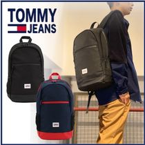 TOMMY JEANS 収納抜群 バックパック リュック ロゴ A4収納可