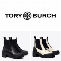 Tory Burch☆CHELSEA LUG-SOLE HEELED ANKLE BOOT