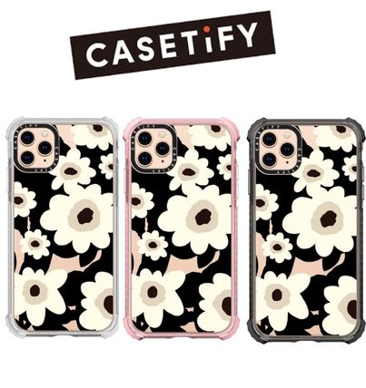 CASETiFY マリメッコ風 花柄インパクト iPhoneケース国内発送