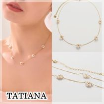 TATIANA【送料込】ネックレス*Pearl Flower Necklace_NZ0983