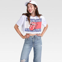 【TOMMY JEANS】MUSIC COLLECTION Rolling Stones クロップドT
