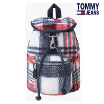 21FW ★TOMMY JEANS★ 兼用 ヘリテージチェックバックパック