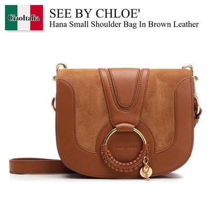 See By Chloe Hana Small Shoulder Bag In Brown Leather