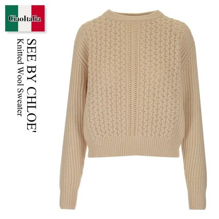 See By Chloe Knitted Wool Sweater