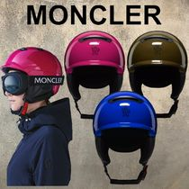 MONCLER(モンクレール) ウィンタースポーツその他 【安心!直営店購入】MONCLER GRENOBLE スキーヘルメット ロゴ